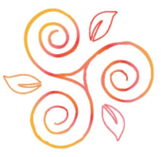 Triskel Logo Itouch Shiatsu