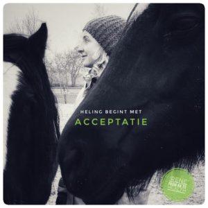 Heling begint met Acceptatie